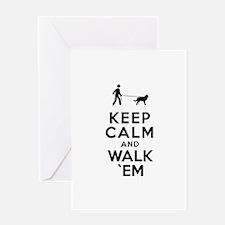Estrela Mountain Dog Greeting Card