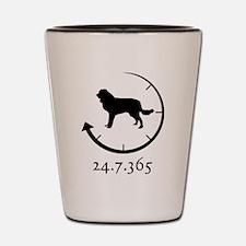Estrela Mountain Dog Shot Glass