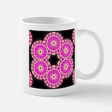 pink cross stich Mugs