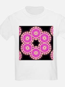 pink cross stich T-Shirt