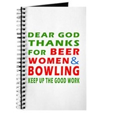 Beer Women and Bowling Journal