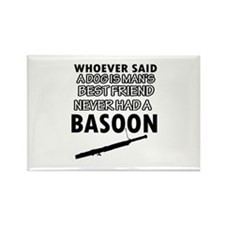 Cool Basoon designs Rectangle Magnet
