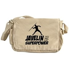 Javelin is my superpower Messenger Bag