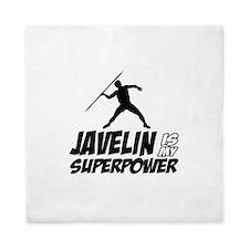 Javelin is my superpower Queen Duvet