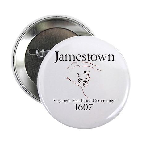 "Jamestown 1607 2.25"" Button (100 pack)"