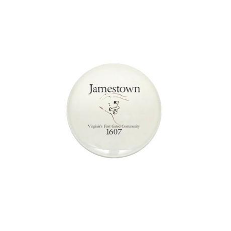 Jamestown 1607 Mini Button (100 pack)