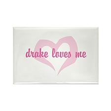 """""""drake loves me"""" Rectangle Magnet"""
