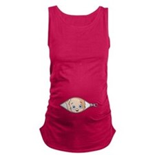 Cute Funny Maternity Tank Top