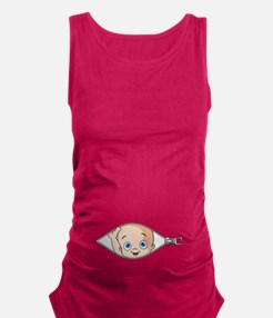 Funny Maternity Tank Top