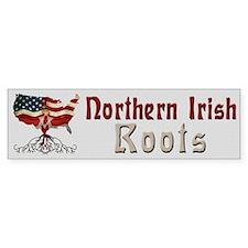 American Northern Irish Roots Bumper Bumper Sticker