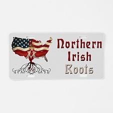 American Northern Irish Roots Aluminum License Pla