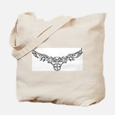 Tribal Owl 3 Tote Bag
