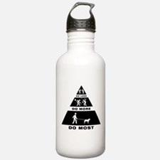 Curly Coated Retriever Water Bottle