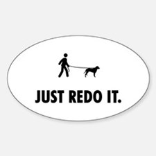 Curly Coated Retriever Sticker (Oval)