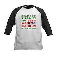 Beer Women and Biathlon Tee