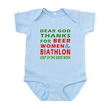 Beer Women and Biathlon Infant Bodysuit