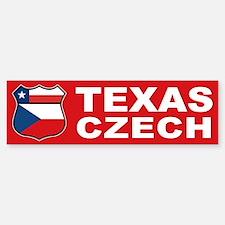 Texas Czech American Bumper Bumper Bumper Sticker