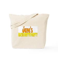 personalized bachlorette Tote Bag