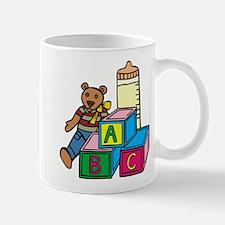 Teddy Bear & Blocks Mug