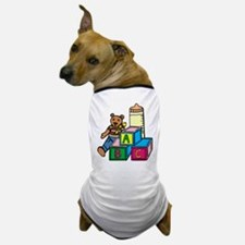 Teddy Bear & Blocks Dog T-Shirt