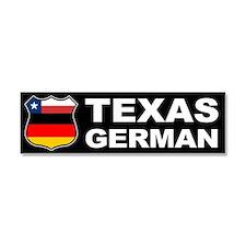 Texas German American Car Magnet 10 x 3