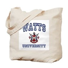 WATTS University Tote Bag