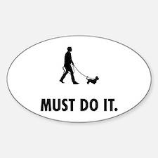 Dandie Dinmont Terrier Sticker (Oval)