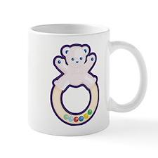 Teddy Bear Teething Ring Mug