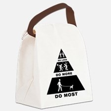 Doberman Pinscher Canvas Lunch Bag