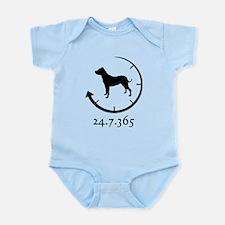 Dogo Argentino Infant Bodysuit
