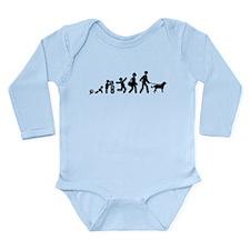 Dogue de Bordeaux Long Sleeve Infant Bodysuit