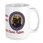 Masonic Vietnam Veteran Large Mug