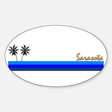 Sarasota, Florida Oval Decal