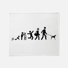 English Foxhound Throw Blanket