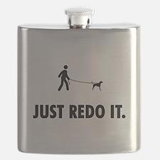 English Foxhound Flask
