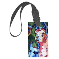 I'm in Llama Land Luggage Tag