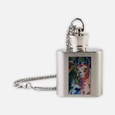I'm in Llama Land Flask Necklace