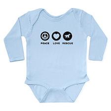 English Setter Long Sleeve Infant Bodysuit