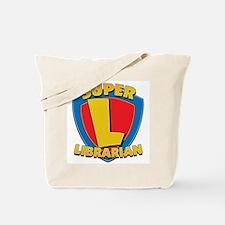 Super Librarian Tote Bag