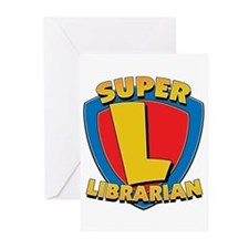 Super Librarian Greeting Cards (Pk of 10)