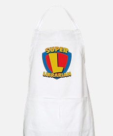 Super Librarian BBQ Apron