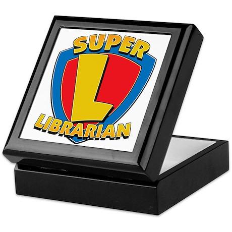 Super Librarian Keepsake Box