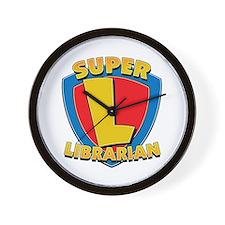 Super Librarian Wall Clock