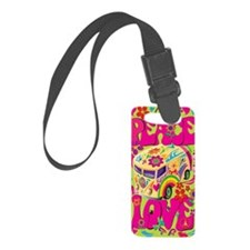 peace-and-love-iphone Luggage Tag