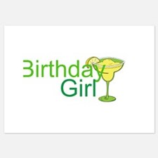 Birthday Girl margarita Invitations
