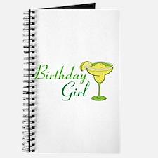 Birthday Girl margarita Journal