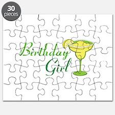 Birthday Girl margarita Puzzle