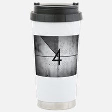 Grunge Countdown  Stainless Steel Travel Mug