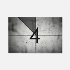 Grunge Countdown  Rectangle Magnet