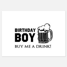 Birthday Boy Beer Invitations